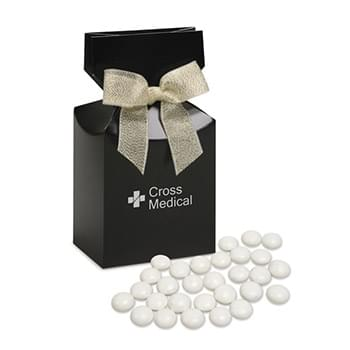 Chocolate Gourmet Mints in Black Premium Delights Gift Box