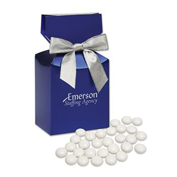 Chocolate Gourmet Mints in Blue Premium Delights Gift Box