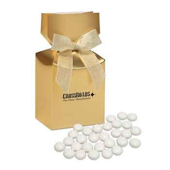 Chocolate Gourmet Mints in Gold Premium Delights Gift Box