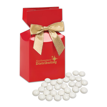 Chocolate Gourmet Mints in Red Premium Delights Gift Box