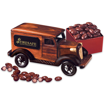 1938 Delivery Van with Chocolate Covered Almonds