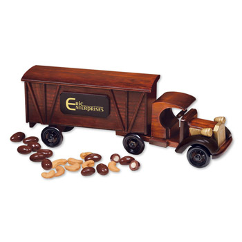 1920 Tractor-Trailer Truck with Chocolate Almonds & Extra Fancy Jumbo Cashews